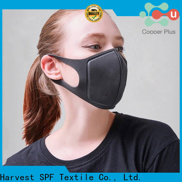 Copper Plus replaceable black surgeon mask supply for gym