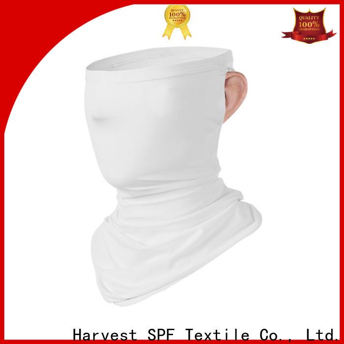 Custom orange neck scarf ice suppliers for summer