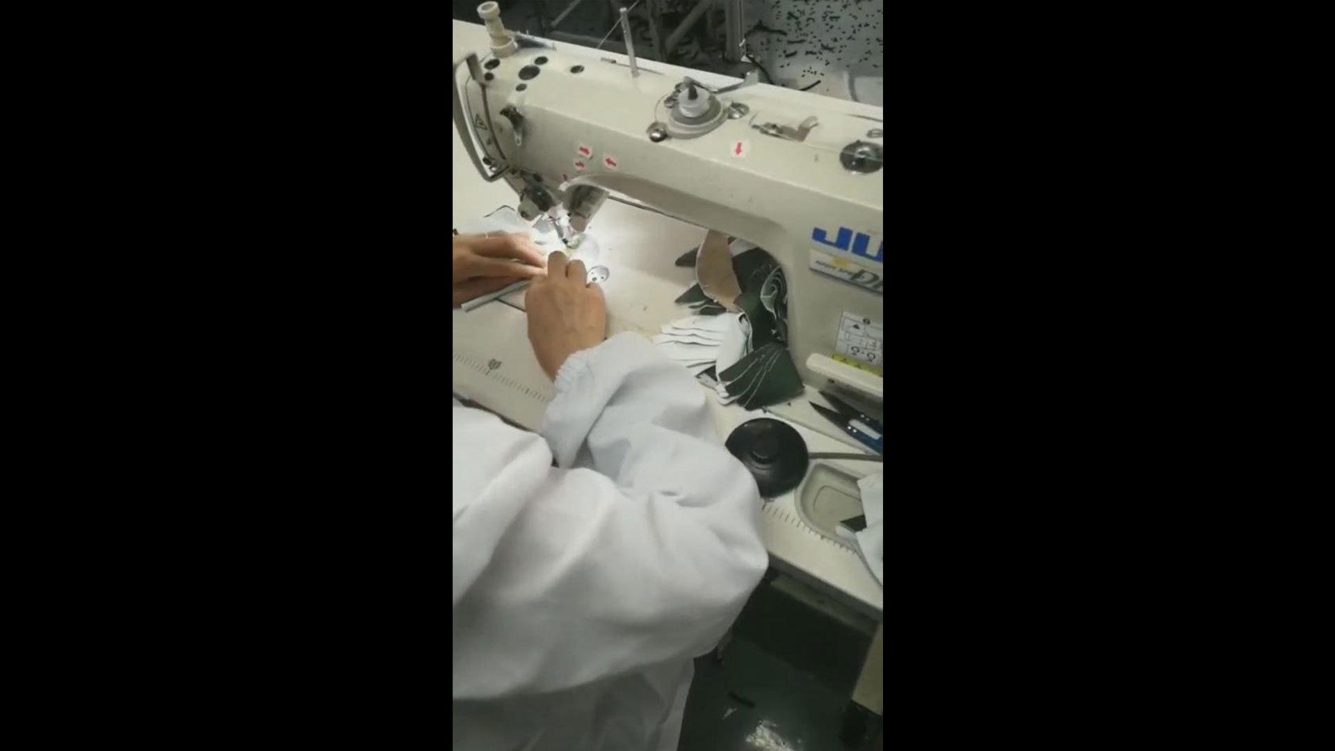 OEM Copper Face Mask Production Step 3