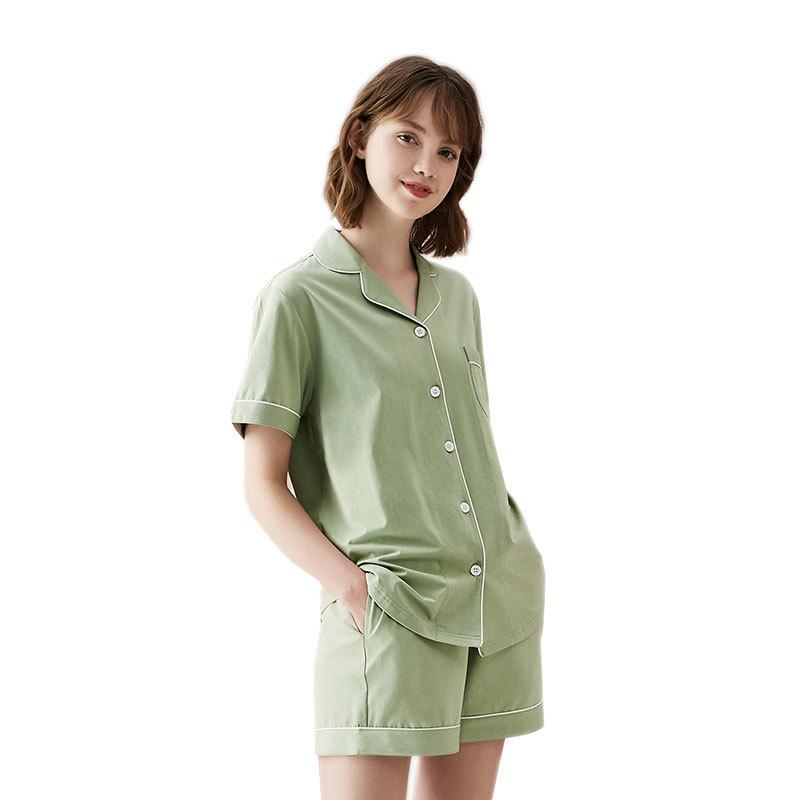 Copper Pajamas Copper Plus Antibacterial Women's Half-length Sleepwear Set