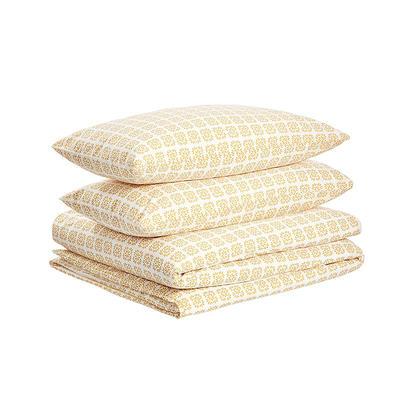Custom Antibacterial Copper Bedding Copper Plus Linen Quilt Duvet Cover