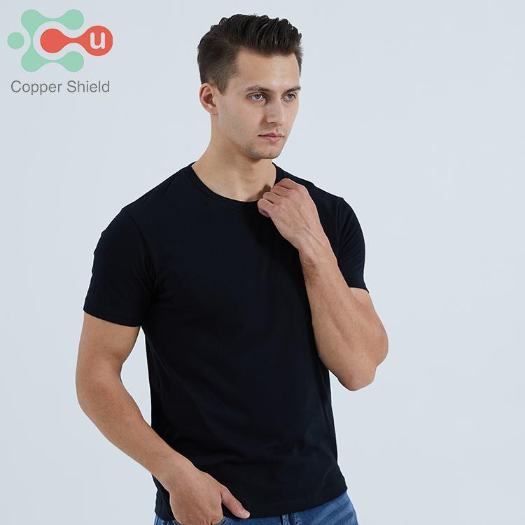 Copper Shield OEM/ODM Cotton Copper Men's T-Shirt