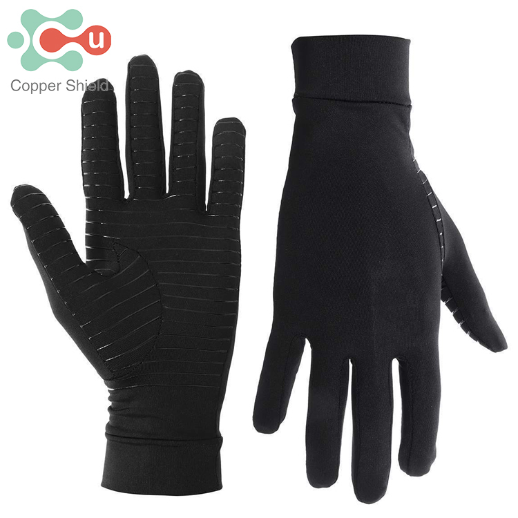 Copper Shield OEM/ODM Copper Infused Compression Pain Relief Antibacterial Anti-Odor Arthritis Gloves